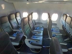 Сборы авиакомпании «Победа» за выбор места в салоне самолета