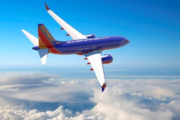 Southwest Airlines Max 7 — 737 Artwork