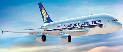 Singapore Airlines: Акция на авиабилеты из Москвы в Сингапур