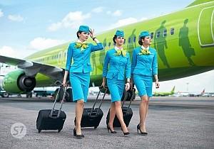 S7: Акция на авиабилеты из Москвы и Санкт-Петербурга в Томск