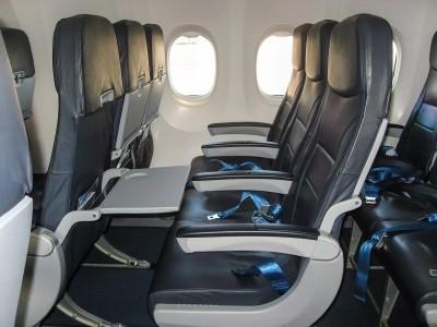 лоукостер «Победа» зашил карманы на пассажирских креслах