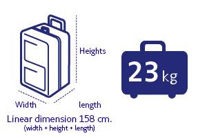 Регистрируемый багаж LATAM Airlines