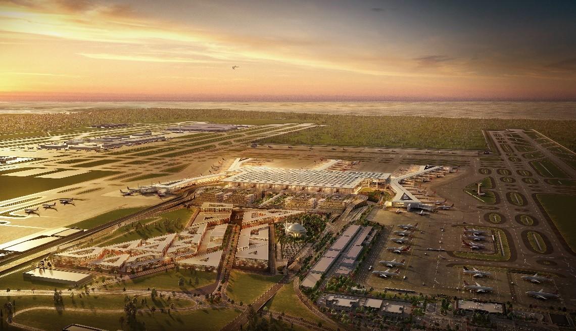Как добраться из Нового аэропорта Стамбула до центра города