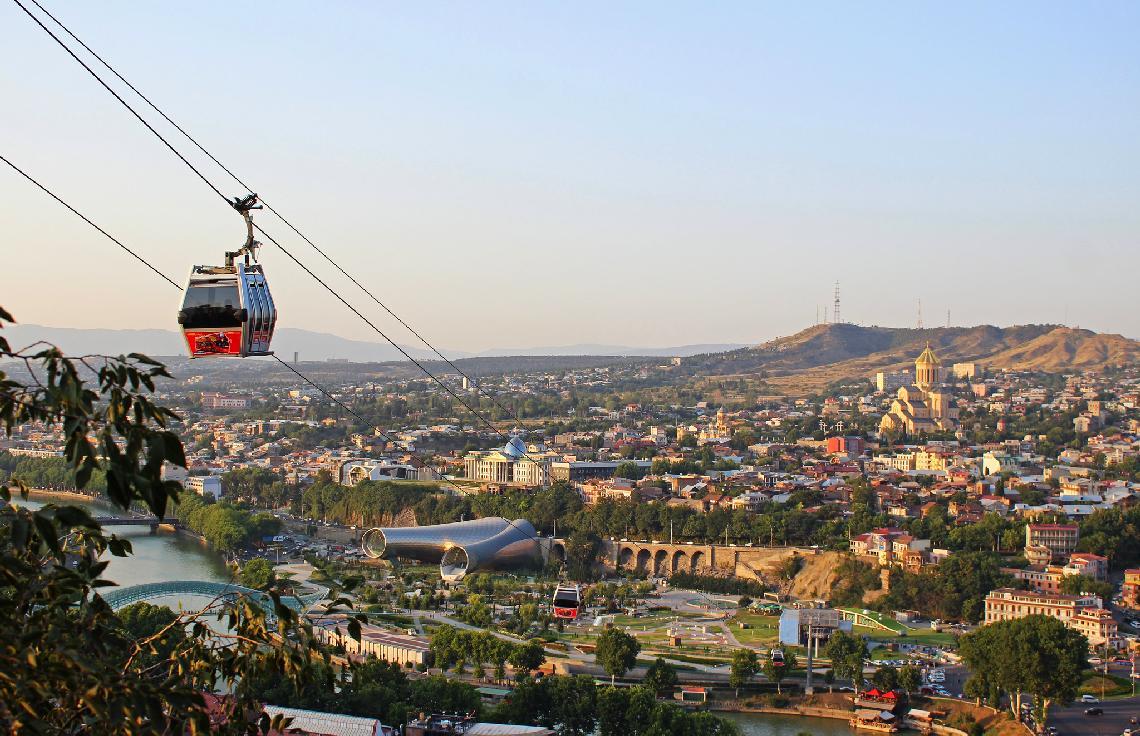 Как добраться из Москвы в Тбилиси