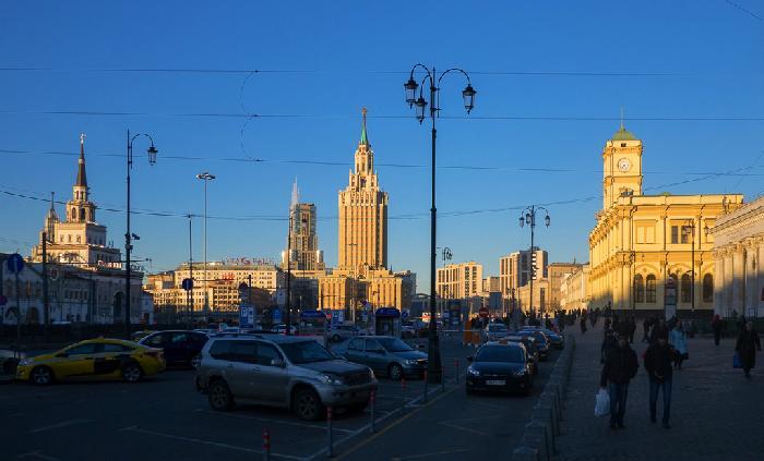 Отели возле Красной площади и Кремля