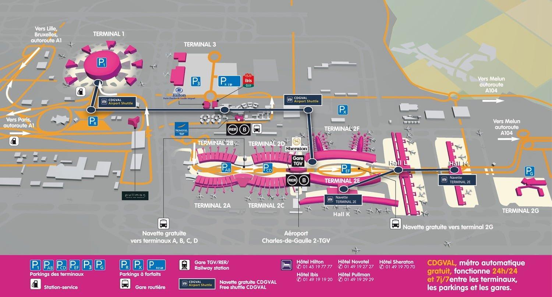 Как добраться из аэропорта Шарль-де-Голль в Париж самостоятельно