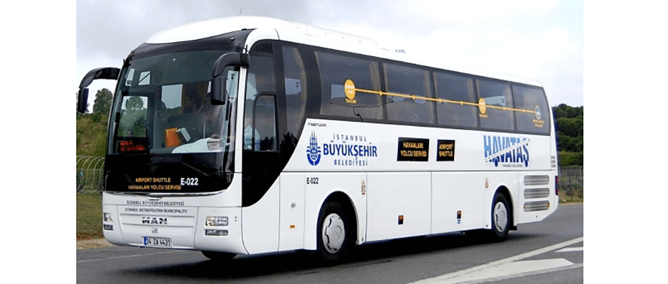 Как доехать на автобусе из аэропорта Сабихи Гекчен в Стамбул