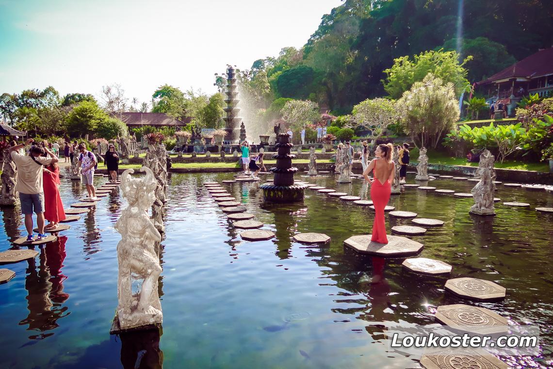 Экскурсия в дворец на воде Тирта Ганга