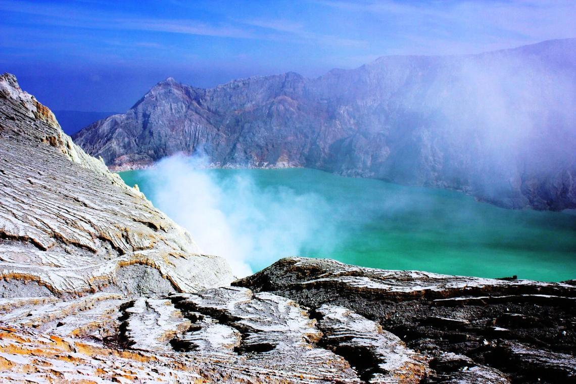 Экскурсия на вулкан Иджен остров Ява