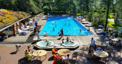 Загородные СПА отели Ленинградской области с бассейном