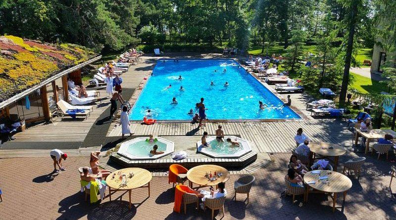 СПА отели Ленинградской области с бассейном