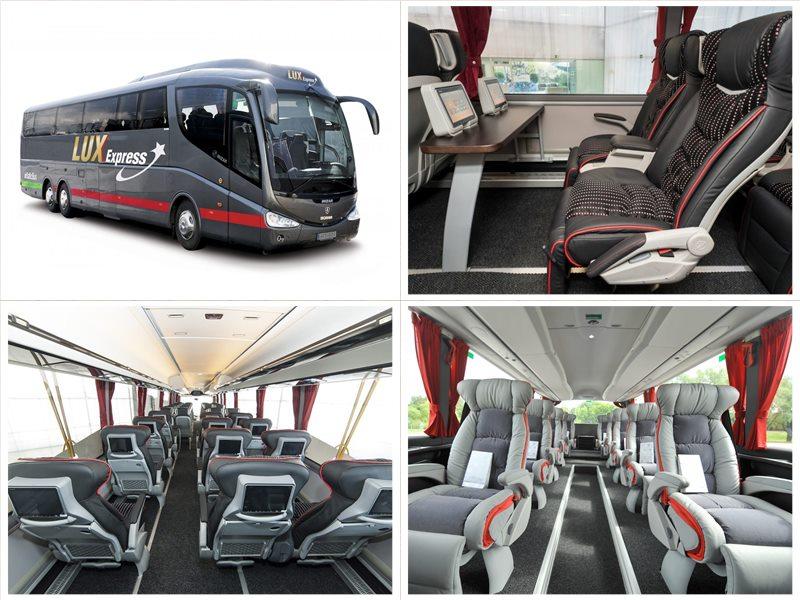 Люкс-Экспресс билеты на автобус Таллинн - Тарту