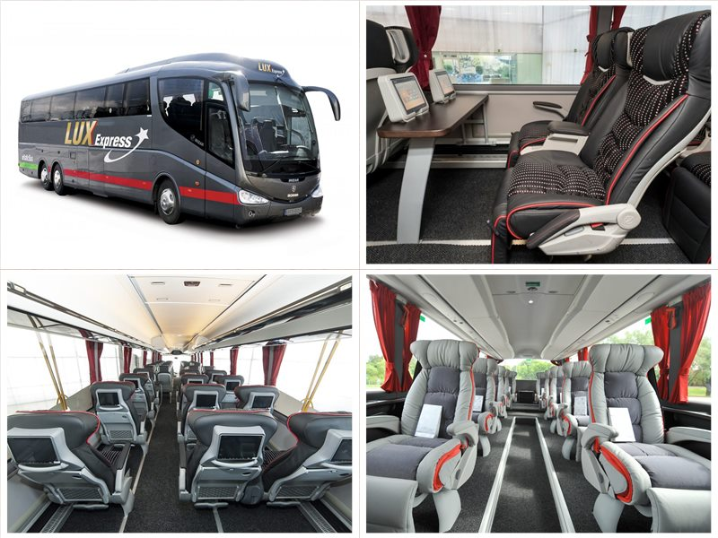 Люкс-Экспресс билеты на автобус Йыхви - Санкт-Петербург
