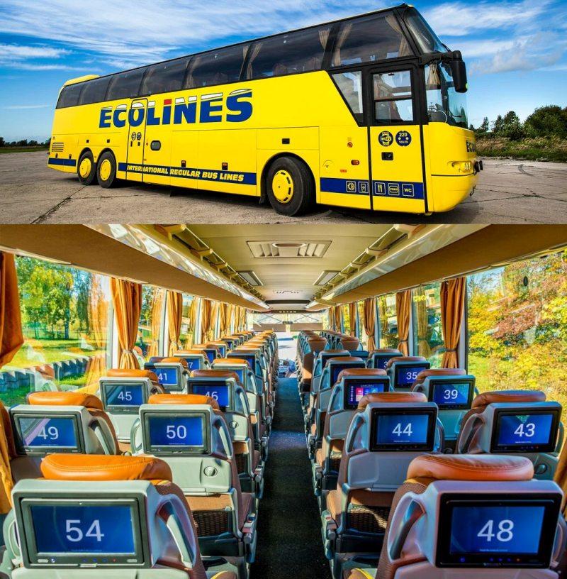 Ecolines билеты на автобус официальный сайт