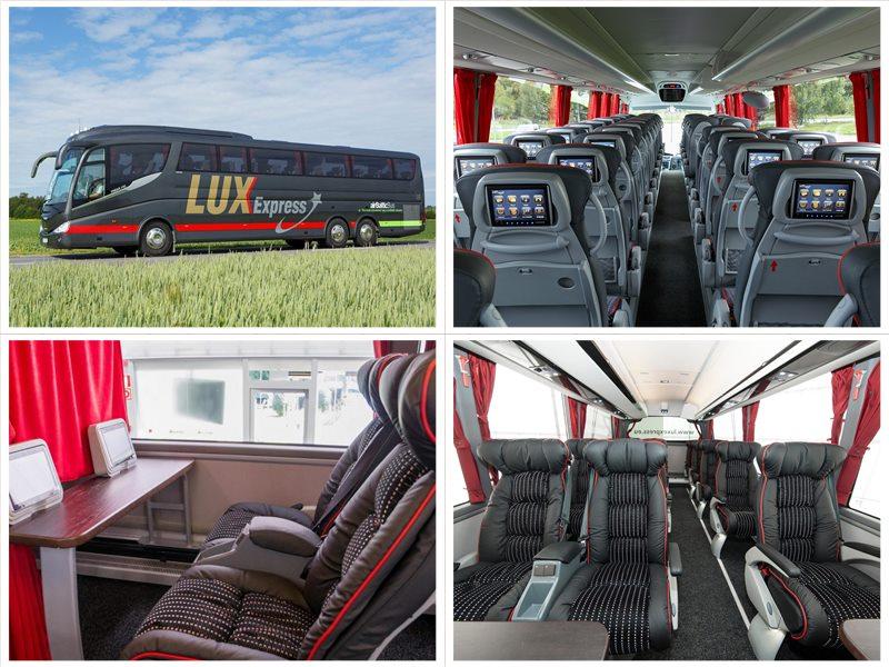 Люкс-Экспресс автобусы официальный сайт Lux Express билеты