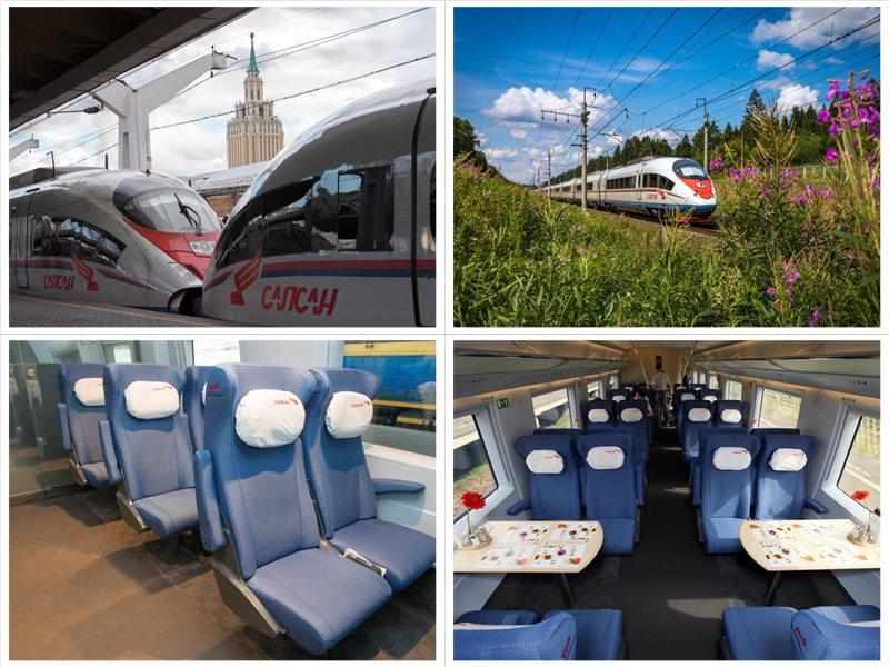 Билеты на Сапсан Москва - Санкт-Петербург расписание поездов цены