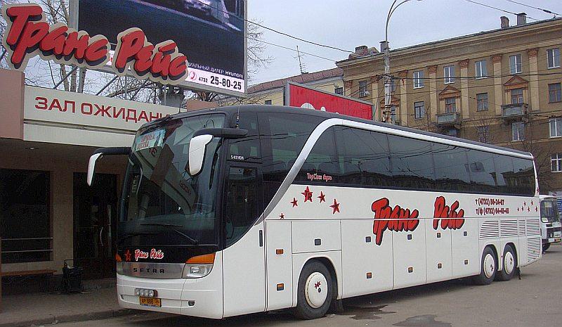ТрансРейс автобус Воронеж Москва официальный сайт