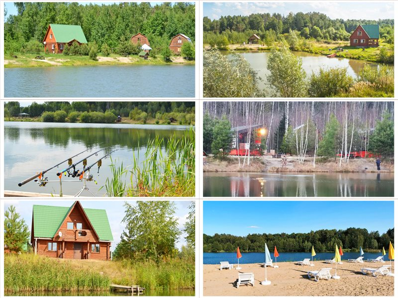 Загородный рыболовный клуб Литвиново