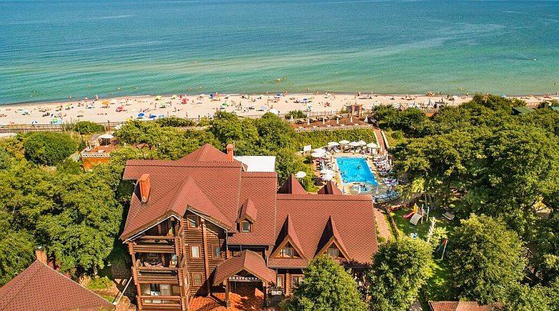 СПА отели Калининградской области на берегу моря с бассейном