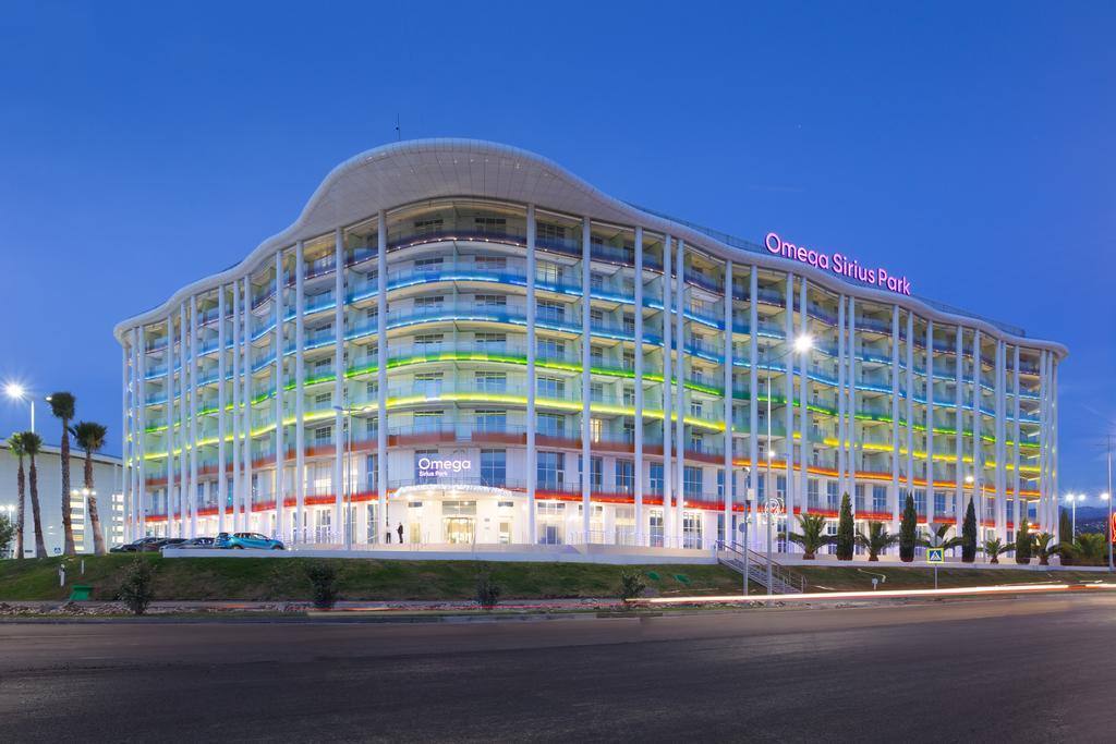 Отель Omega Sirius Адлер Сочи официальный сайт