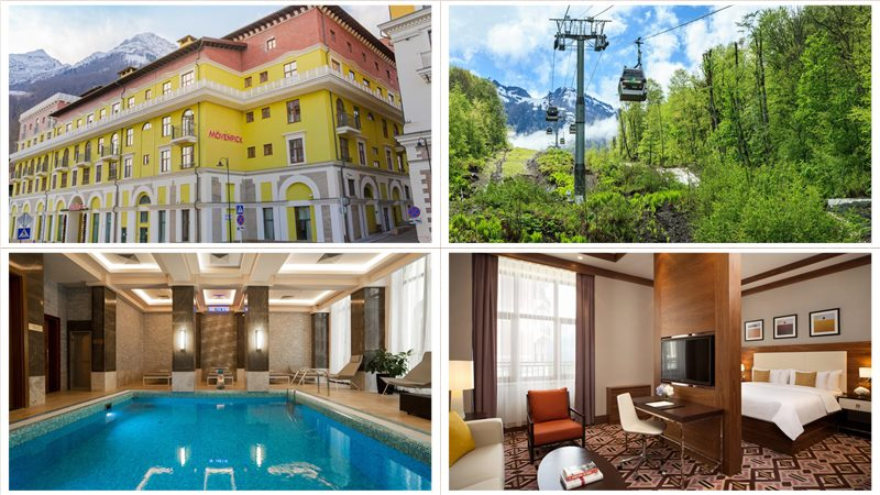 Отель Mövenpick Hotel Krasnaya Polyana официальный сайт