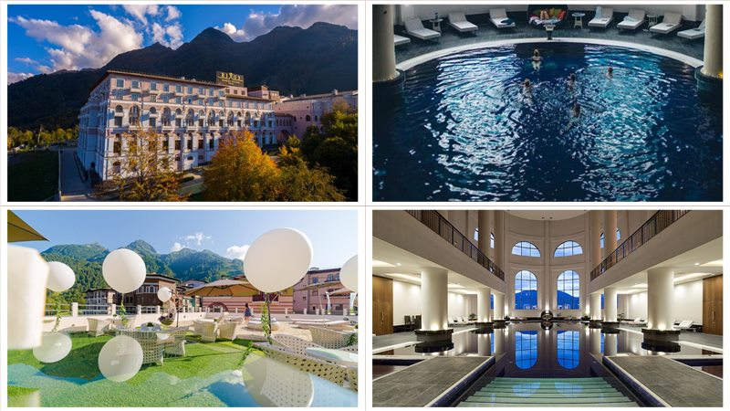Отель Rixos Krasnaya Polyana Sochi официальный сайт