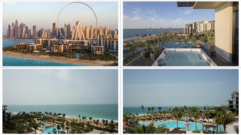 Отель Caesars Palace Bluewaters Dubai 5*