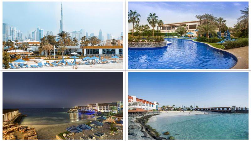 Отель Dubai Marine Beach Resort & Spa 5*