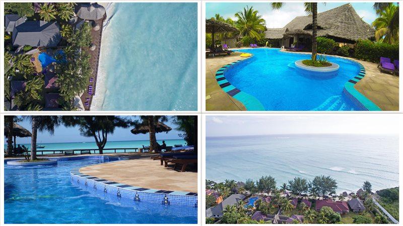 Отель Mnarani Beach Cottages 4*
