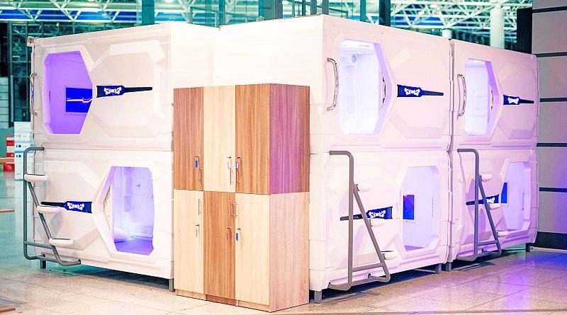 Капсульный отель в аэропорту Сочи (Адлер) цена AeroLive