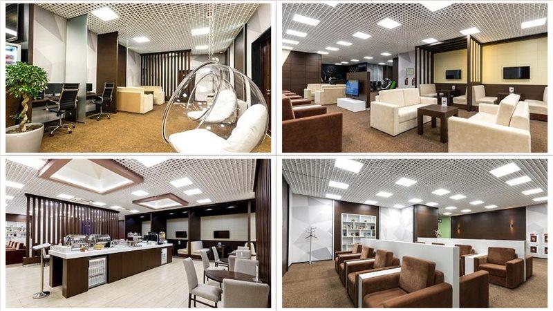 Бизнес-зал Приорити Пасс в аэропорту Сочи в зоне внутренних рейсов