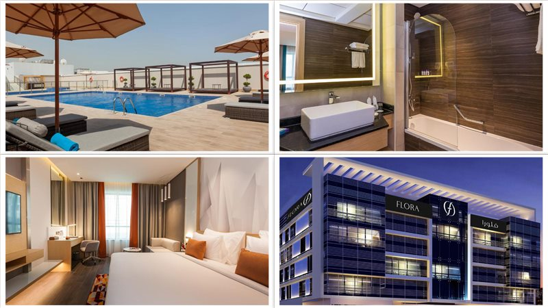 Отель Flora Inn Hotel Dubai Airport 4*