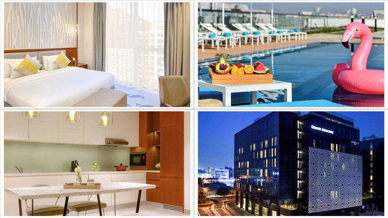 Апарт-отель Grand Mercure Hotel and Residences Dubai Airport 4*