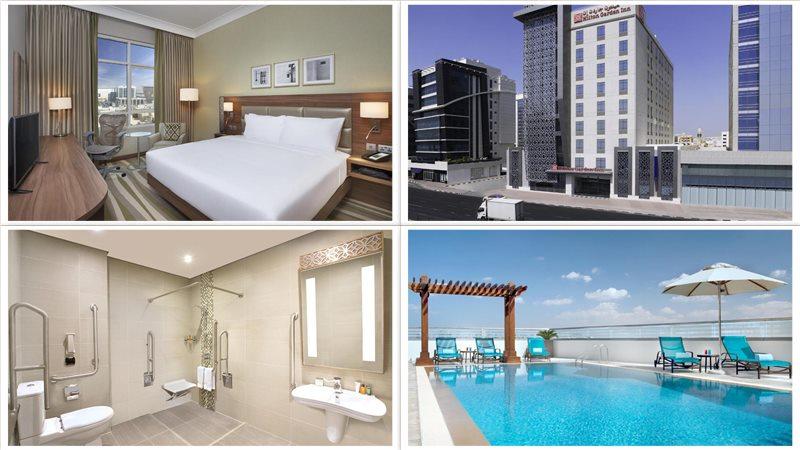 Отель Hilton Garden Inn Dubai Al Muraqabat - Deira 4*
