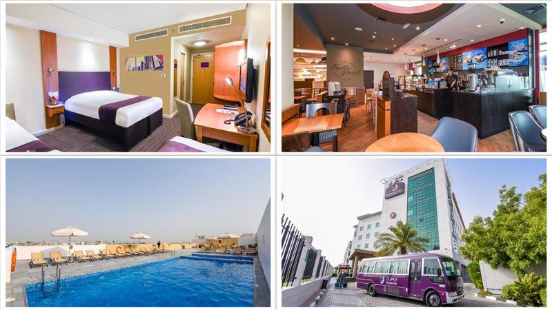 Отель Premier Inn Dubai International Airport 3*